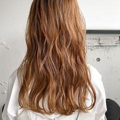デジタルパーマ ミディアム パーマ くびれカール ヘアスタイルや髪型の写真・画像
