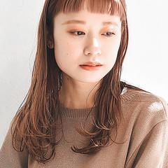 髪質改善 大人ミディアム ストレート ミディアム ヘアスタイルや髪型の写真・画像