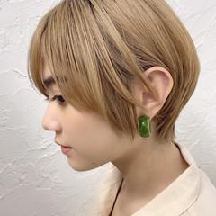 フェミニン ショートヘア 大人ショート ショート ヘアスタイルや髪型の写真・画像