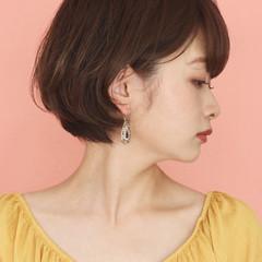 デート ショート 大人可愛い 簡単ヘアアレンジ ヘアスタイルや髪型の写真・画像