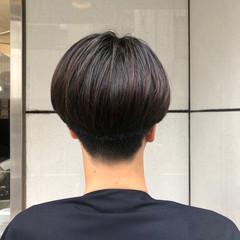 メンズマッシュ メンズショート メンズカット マッシュショート ヘアスタイルや髪型の写真・画像