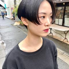 ショートヘア 大人ショート ショートボブ ハンサムショート ヘアスタイルや髪型の写真・画像