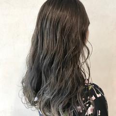 大人女子 ナチュラル ヘアカラー オリーブカラー ヘアスタイルや髪型の写真・画像