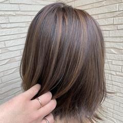 可愛い モード ボブ アッシュグレー ヘアスタイルや髪型の写真・画像