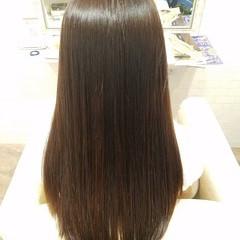 縮毛矯正ストカール ナチュラル ストカール ロング ヘアスタイルや髪型の写真・画像