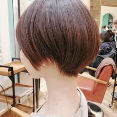 ハンサムショート ショートカット ショート ショートボブ ヘアスタイルや髪型の写真・画像