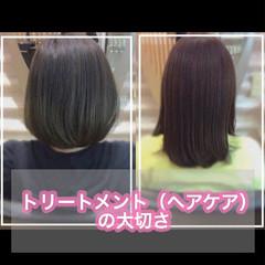 大人ロング ミディアム うる艶カラー ナチュラル ヘアスタイルや髪型の写真・画像