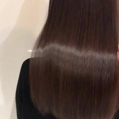 美髪 ロング デート 艶髪 ヘアスタイルや髪型の写真・画像