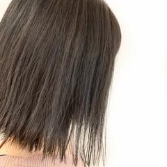秋 ボブ グレージュ 冬 ヘアスタイルや髪型の写真・画像