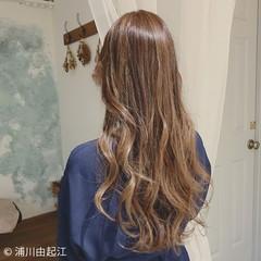 ロング モテ髪 大人かわいい デート ヘアスタイルや髪型の写真・画像