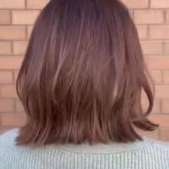 ハイライト ナチュラル アッシュグレージュ アッシュベージュ ヘアスタイルや髪型の写真・画像