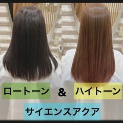 ナチュラル 髪質改善 ロング 大人ロング ヘアスタイルや髪型の写真・画像