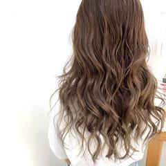 髪質改善カラー アッシュ 髪質改善 アッシュグレージュ ヘアスタイルや髪型の写真・画像