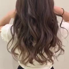 フェミニン かわいい 夏 オフィス ヘアスタイルや髪型の写真・画像