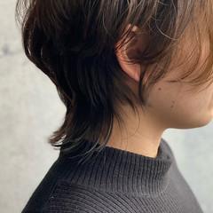 ショートヘア ショート インナーカラー ウルフカット ヘアスタイルや髪型の写真・画像