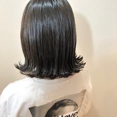 アディクシーカラー イルミナカラー オリーブグレージュ ナチュラル ヘアスタイルや髪型の写真・画像