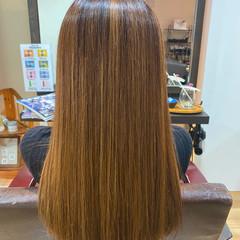 エアーストレート 髪質改善トリートメント ストレート ロング ヘアスタイルや髪型の写真・画像