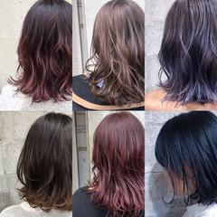 ヘアアレンジ ヘアカラー 外国人風カラー ナチュラル ヘアスタイルや髪型の写真・画像