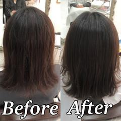 髪質改善 髪質改善トリートメント ツヤ髪 ナチュラル ヘアスタイルや髪型の写真・画像