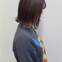 ボブ まとまるボブ 切りっぱなしボブ ミニボブ ヘアスタイルや髪型の写真・画像