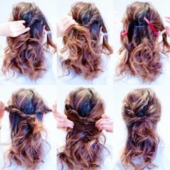 エレガント ヘアアレンジ 結婚式 デート ヘアスタイルや髪型の写真・画像