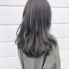 ナチュラル 透明感カラー ロング ヘアスタイル ヘアスタイルや髪型の写真・画像