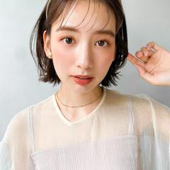 ウルフカット 韓国 アンニュイほつれヘア ヘアアレンジ ヘアスタイルや髪型の写真・画像