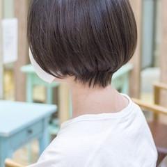 ショートボブ ショート マッシュショート ショートヘア ヘアスタイルや髪型の写真・画像