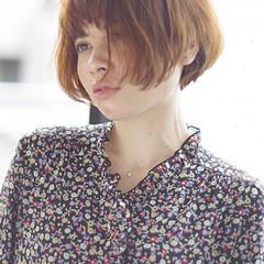 大人女子 かっこいい ボブ ガーリー ヘアスタイルや髪型の写真・画像