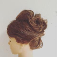 ヘアアレンジ ショート ゆるふわ フェミニン ヘアスタイルや髪型の写真・画像