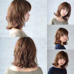 大人かわいい ナチュラル 大人女子 ゆるふわ ヘアスタイルや髪型の写真・画像