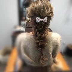 編み込み ヘアアレンジ 成人式 ロング ヘアスタイルや髪型の写真・画像