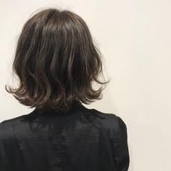 ボブ ヘアアレンジ エレガント 外国人風カラー ヘアスタイルや髪型の写真・画像