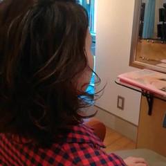 パーマ ゆるふわ モテボブ アンニュイほつれヘア ヘアスタイルや髪型の写真・画像