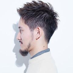 ショート 刈り上げ ツーブロック ストリート ヘアスタイルや髪型の写真・画像