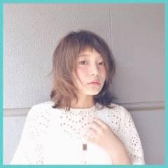ウルフカット 外国人風 ボブ ナチュラル ヘアスタイルや髪型の写真・画像
