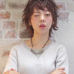 パーマ モード フェミニン 外国人風 ヘアスタイルや髪型の写真・画像