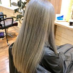 ブリーチ デート ロング スポーツ ヘアスタイルや髪型の写真・画像
