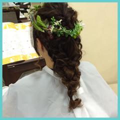 ロング 結婚式 パーティ ショート ヘアスタイルや髪型の写真・画像