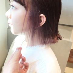 インナーカラー リラックス 色気 大人女子 ヘアスタイルや髪型の写真・画像