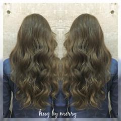 ハイライト アッシュ 外国人風 ガーリー ヘアスタイルや髪型の写真・画像