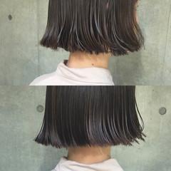 アッシュ ハイライト ナチュラル ニュアンス ヘアスタイルや髪型の写真・画像