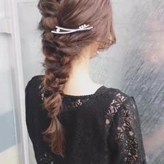 大人女子 ヘアアレンジ フェミニン 結婚式 ヘアスタイルや髪型の写真・画像