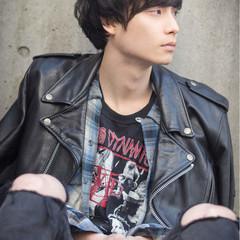 ボーイッシュ 黒髪 ストリート ショート ヘアスタイルや髪型の写真・画像