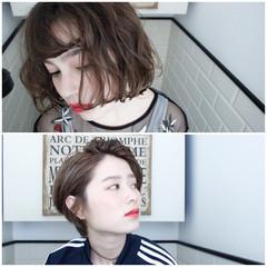パーマ 外国人風 ショート 外国人風カラー ヘアスタイルや髪型の写真・画像