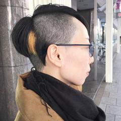似合わせ モード 大人女子 刈り上げ ヘアスタイルや髪型の写真・画像