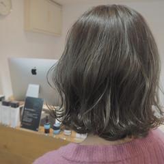 ボブ ナチュラル 外国人風 イルミナカラー ヘアスタイルや髪型の写真・画像