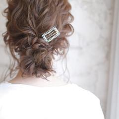 ゆるふわ 夏 セミロング パーティ ヘアスタイルや髪型の写真・画像