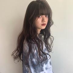 ロング ナチュラル 360度どこからみても綺麗なロングヘア 波巻き ヘアスタイルや髪型の写真・画像