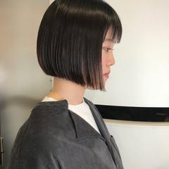 タンバルモリ ストリート 黒髮 ボブ ヘアスタイルや髪型の写真・画像